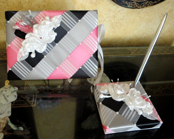 White Hot Pink Black Grey or Custom Made to your Colors Wedding Guest