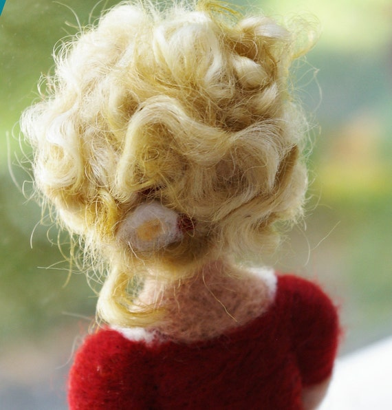 BTRT :: Motherhood is a Common Language (Needlefelted Wool Sculpture)