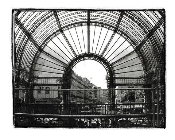 Les Halles, Париж Черно-белый Париж - нуар и др. блан - Paris Photo - художественной фотографией - Париж Декор - Париж Фото