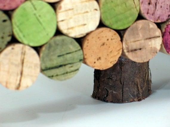 Wine Cork Christmas Trees Set of 3