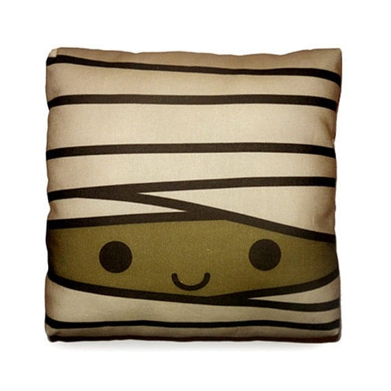 FREE SHIPPING - Mini Pillow - Happy Mummy