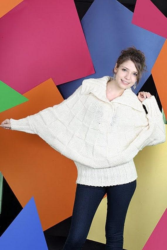 Batwing لباس طراح لباس بافتنی من