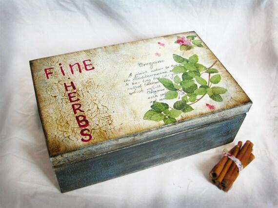 Декоративная коробка хранения в винтажном workdwide декупажа доставки стиль