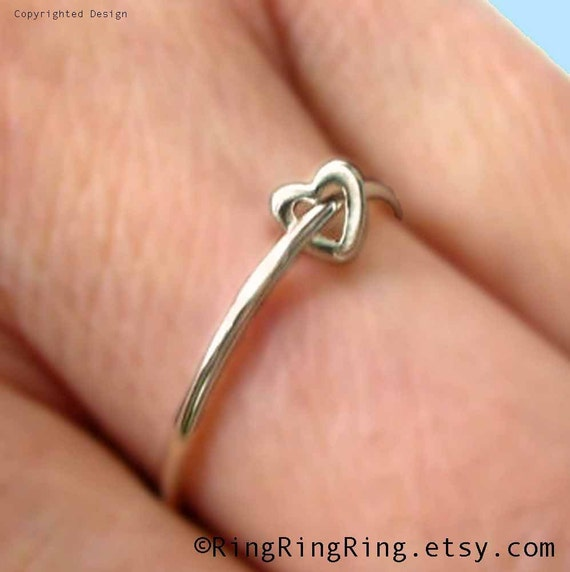 925 adjustable sterling silver ring jewelry, love heart ring, Birthday gift, mother, girlfriend, sister, girl friend, friendship