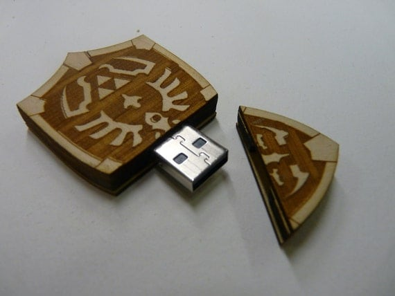 8GB Hyrule Shield USB from The Legend of Zelda