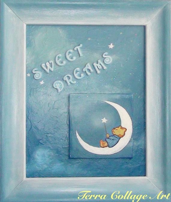 Sweet Dreams, Little Boy.  Оригинальные Смешанные Art Media