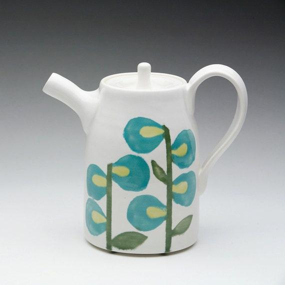 Turquoise Stem Teapot: Liz & Alex Wedding Registry