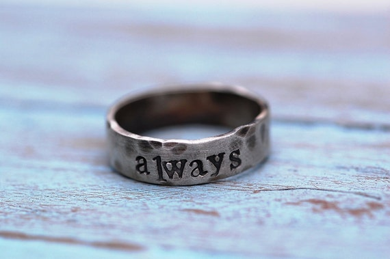 New Design.....The RUSTIC Unisex Ring