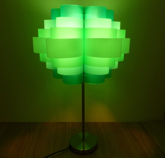 Daisy 12  - Plastic Bottle Table Lamp