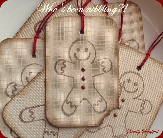 12 Gingerbread Man with Gumdrop Buttons - Baking, Christmas, Cookies