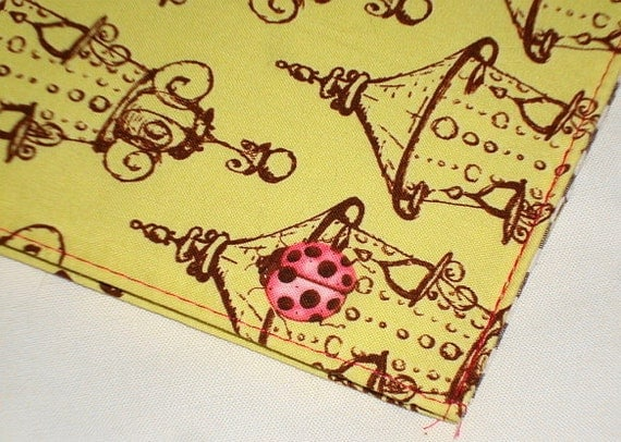 Mod Lanterns and Ladybugs Weekly Academic Planner 2011 by WolfBait