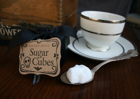 Sugar Cubes - 3 Boxes with 5 Skulls in Each