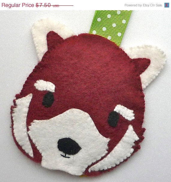 ON SALE Red Panda Pass Case PDF Pattern