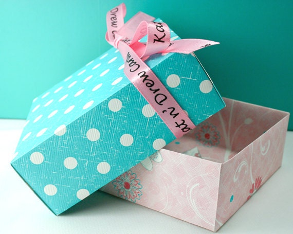 Boxed Valentine Cards - Set of Blank Note Cards