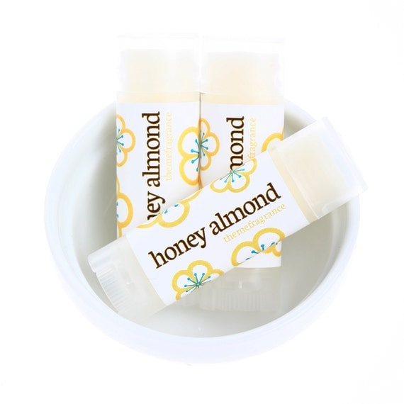 Honey Almond Lip Balm with Squalane Oil Theme by themefragrance