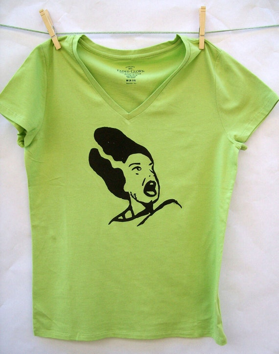 Bride of Frankenstein womens t shirt size medium