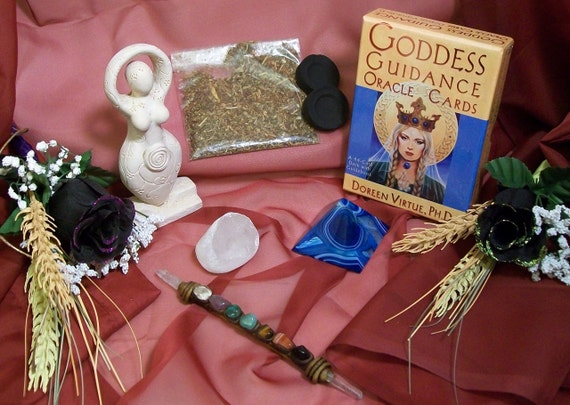 Goddess Oracle Divination Altar Kit