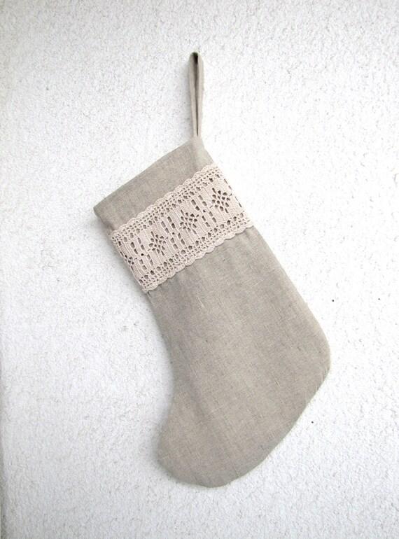 Белье Рождества чулок со старинными кружевами вязания крючком