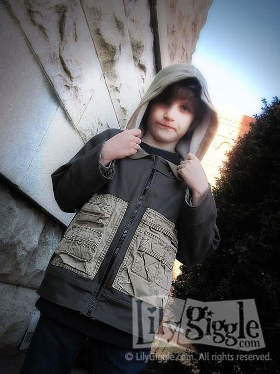 PDF The KREW Jacket E-Pattern, Sewing Pattern and Detailed Tutorial Boys sizes 4-10
