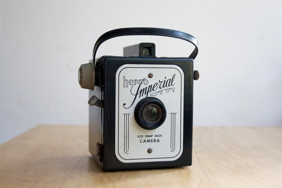 Vintage Camera, Working Herco Imperial Six-Twenty Snap Shot