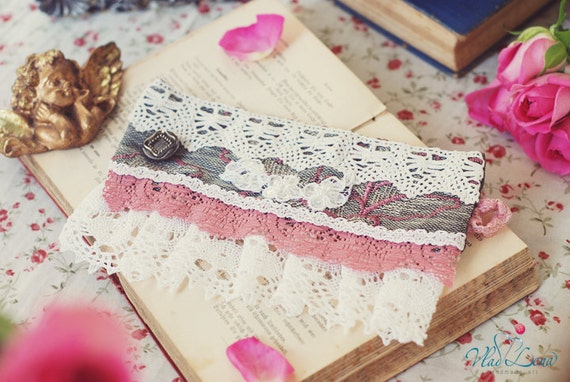Ищете НЕЖНОСТЬ - 5 викторианской Vintage манжеты Браслеты Романтический кружевной ткани