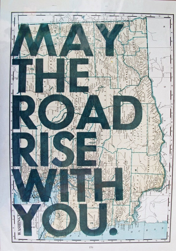 May the Road Rise with You/ Washington