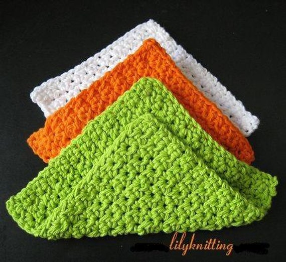 Crocheting Dishcloths For Beginners : FREE DISHCLOTH CROCHET PATTERNS Crochet For Beginners