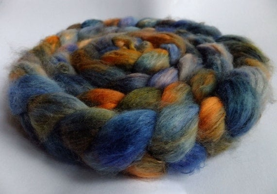Sale - Wild West Hero - Faux Cashmere Roving- 4.5 oz