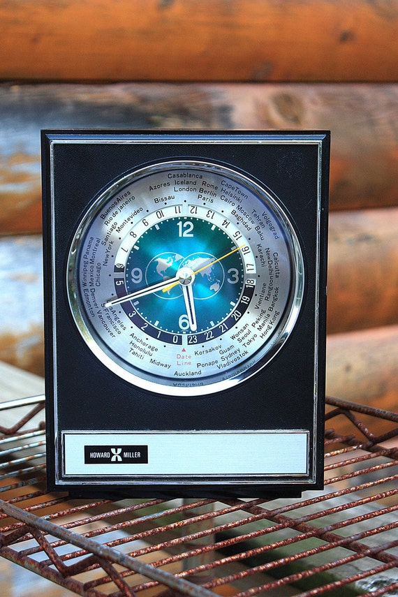 Howard Miller International Clock