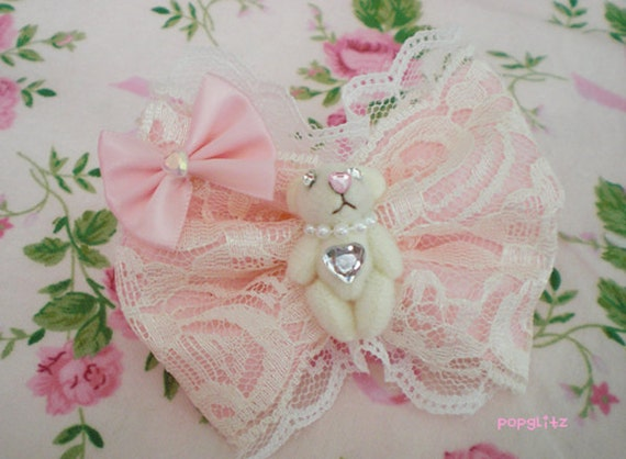 Kawaii Hime Princess Sweet Lolita Bear Ring