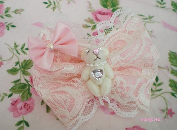 Kawaii Hime Princess Sweet Lolita Bear Ring