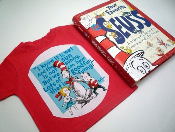 I Know It Is Not Wet And The Sun Is Not Sunny Cat In The Hat Shirt<br>You Choose Size & Color