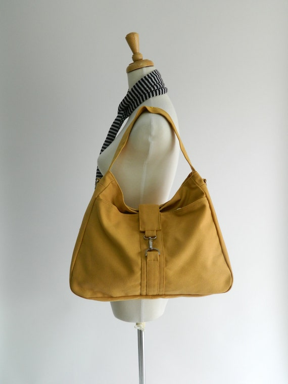 S A L E // 10% OFF // EXPRESS SHIPPING // Ashley - shoulder bag / messenger - Mustard