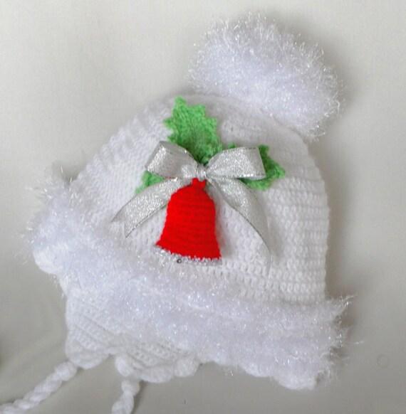 """کلاه نوزاد Crocheted """"کریسمس پری"""""""