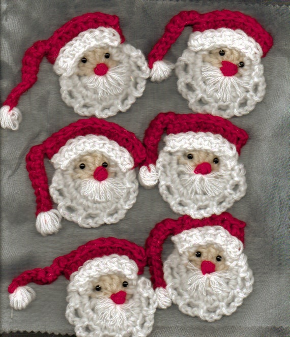 ... PATTERNS FOR CROCHET CHRISTMAS ORNAMENTS - Easy Crochet Patterns