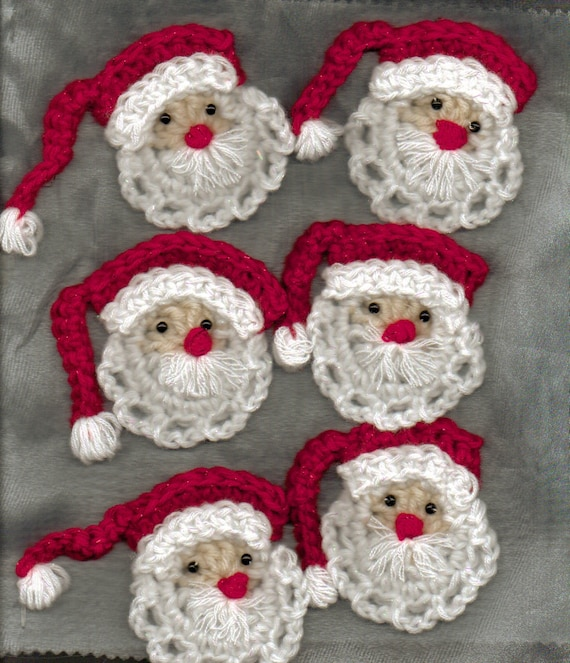 Crochet Patterns Xmas : ... PATTERNS FOR CROCHET CHRISTMAS ORNAMENTS - Easy Crochet Patterns