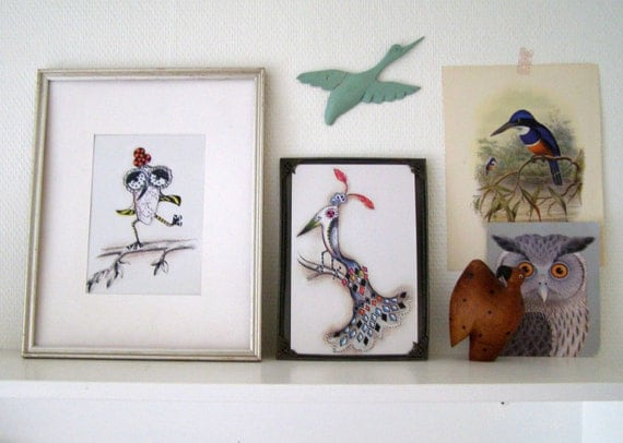 5 Graphic Bird, Postcards 21.5 x 13.7cm