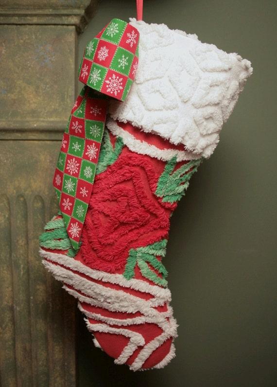 Красная роза Плюшевые Vintage синель Простые украшения - как видно на Рождество Паула Дин и отдыха Журналы