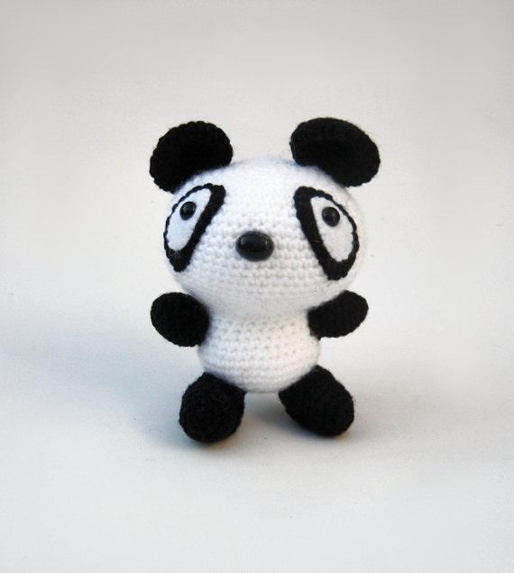 Baby Panda - Kawaii Mini Amigurumi | Kawaii crochet, Baby panda ... | 636x570