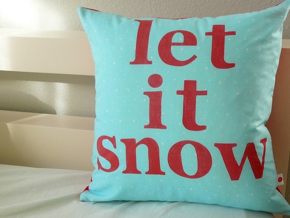 Let it Snow - Pillow Cover