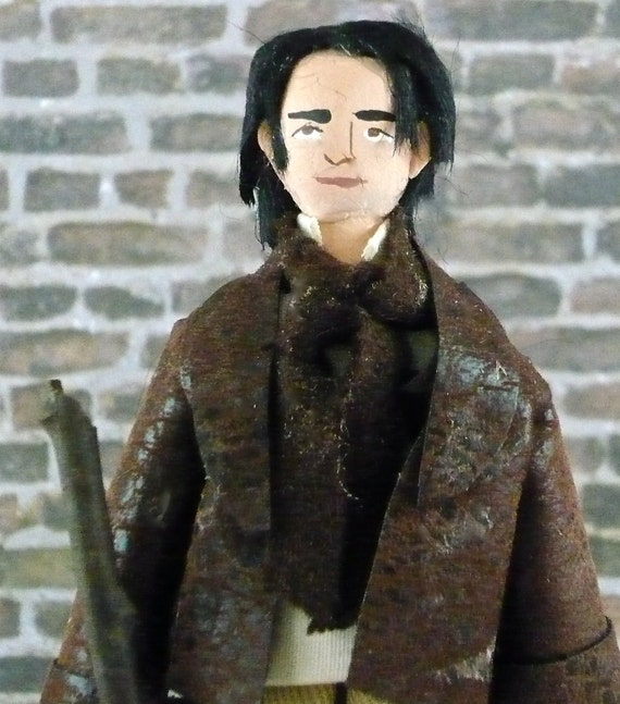 Art Doll Marius of Les Miserables Miniature Character