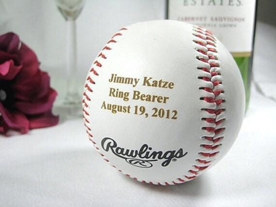 custom listing for Emily - 2 engraved baseballs