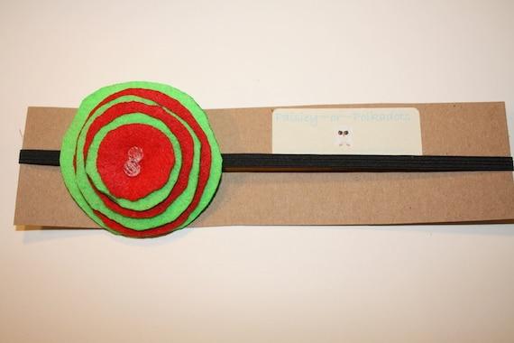 Holiday Blast Headband- paisleyorpolkadots