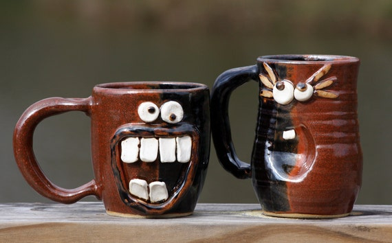 Couple Gift, His and Her Coffee Mugs