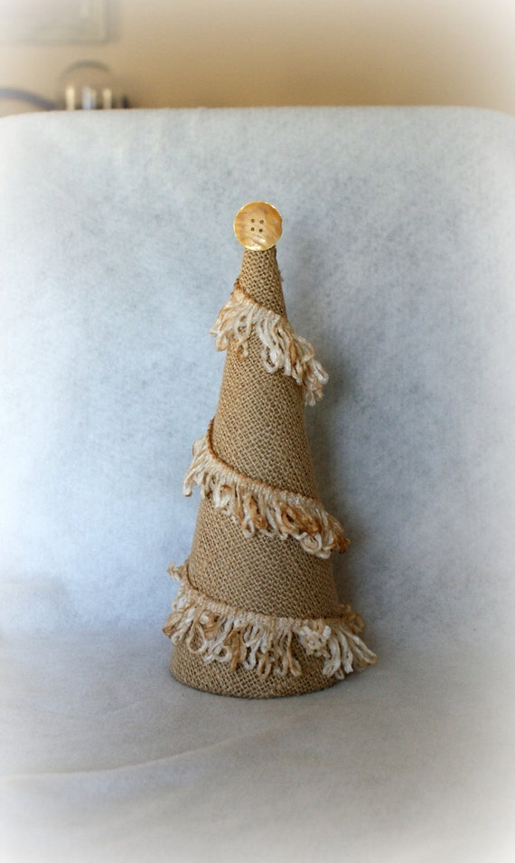 Shabby Chic burlap tree