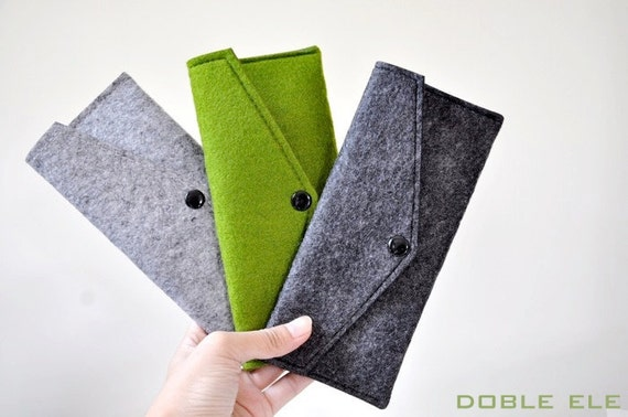 Wool Felt Pencil Case x 1