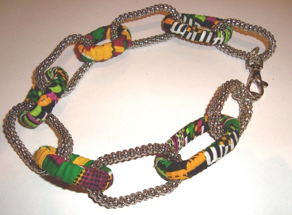 Kent Cloth African Print Jewelry