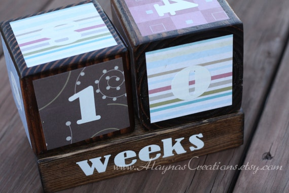 Pregnancy Countdown Blocks