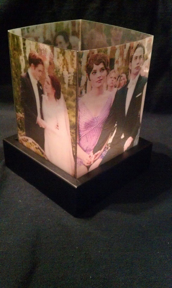 Twilight Saga Breaking Dawn Bella & Edward's Wedding Luminary Lamp Nightlight