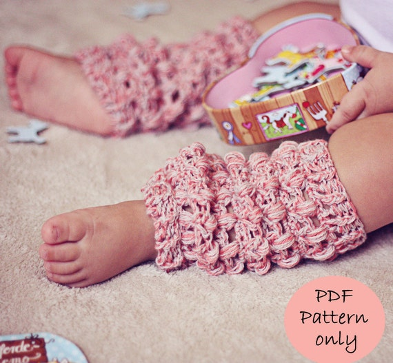 CROCHET BABY LEG WARMERS ? Crochet For Beginners